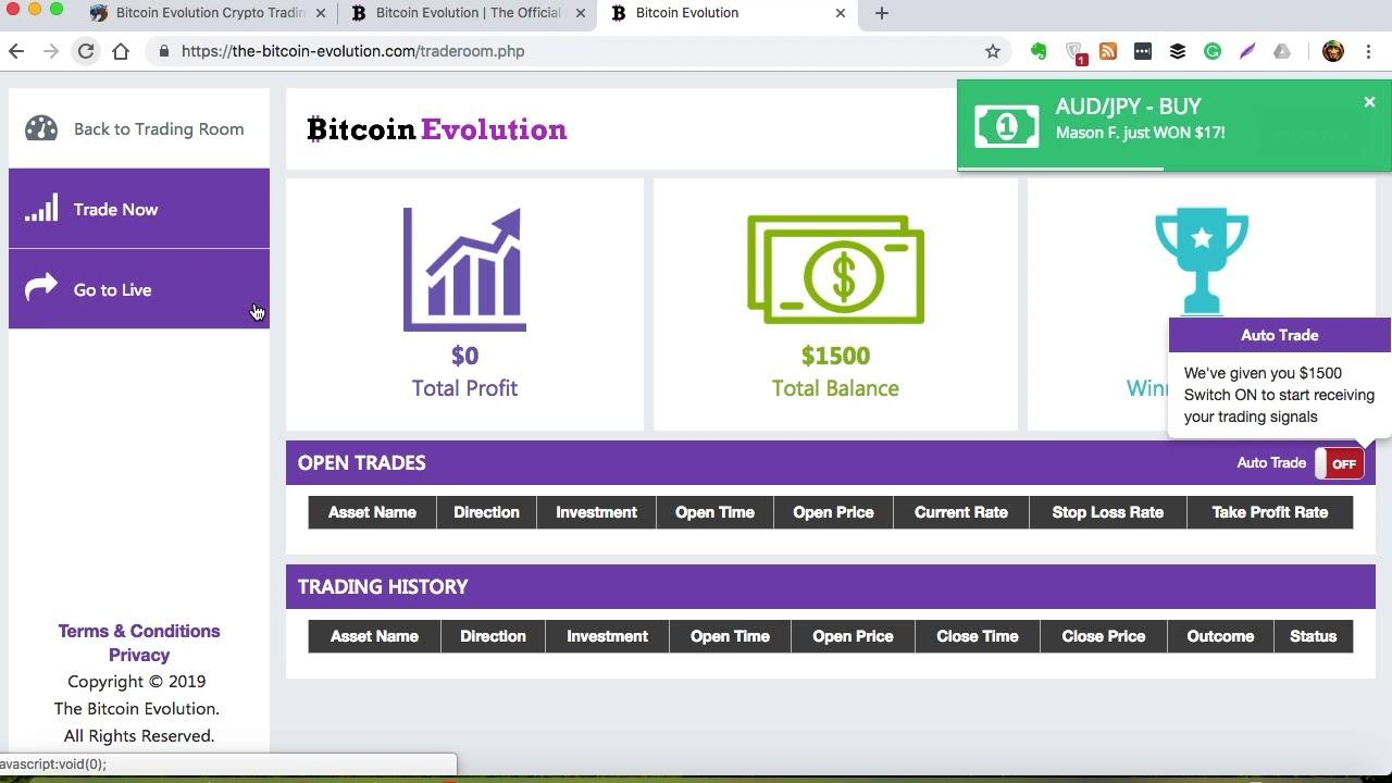 Bitcoin Evolution R1